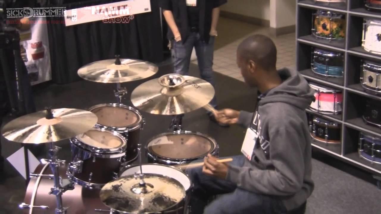 NAMM 2012 Truth Drums - Xavier Breaker - Sick Drummer Magazine Coverage