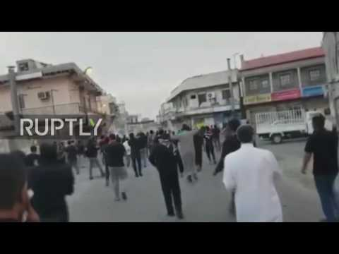 Bahrain: Ten protesters injured as clashes erupt with police in Bani Jamra