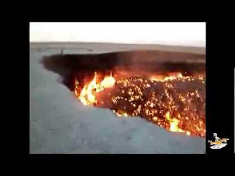 Rusya'ya düşen meteor ve açtığı krater [2013]