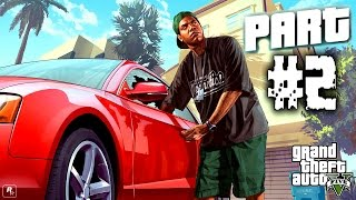 Grand Theft Auto V PC: Story Mode - Gameplay Part 2 (GTA 5)