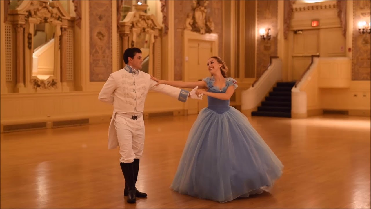 Cinderella And Prince Ballroom Dance Performance Total