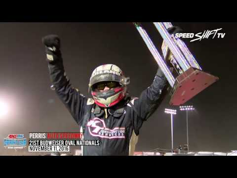 """Highlights: Night #2 - 2016 """"Oval Nationals"""" at Perris"""