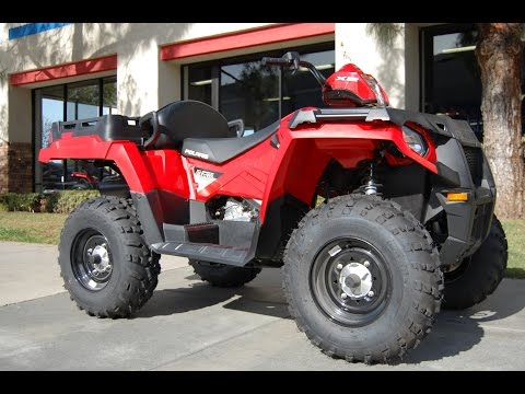 2015 Polaris Sportsman 570 X2 EPS Red
