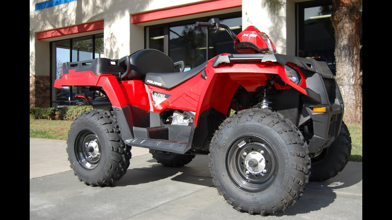 2014 Polaris Sportsman 570 >> 2015 Polaris Sportsman 570 X2 EPS Red - YouTube