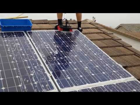 Solar Panel Cleaning/Washing Services