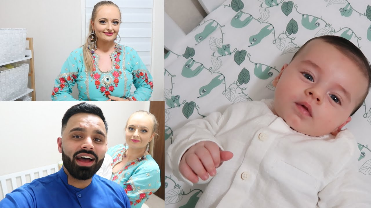 NOAH WEARS KURTA PAJAMA FOR THE FIRST TIME | GET READY WITH US