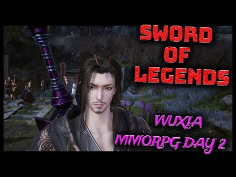 🌺SWORD OF LEGENDS Open Beta in China Begins Today! (Wuxia MMORPG) Gameplay Part 2