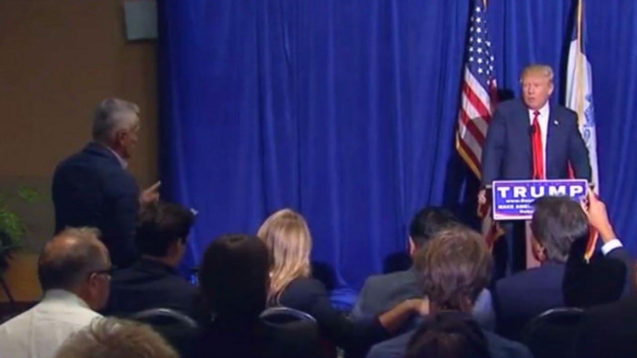 Jorge Ramos cuestiona a Donald Trump sobre inmigración ...