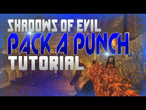 Black Ops 3 Zombies Shadows of Evil - PACK A PUNCH/ ALLE RITUALE Tutorial SOLO/TEAM (GERMAN)
