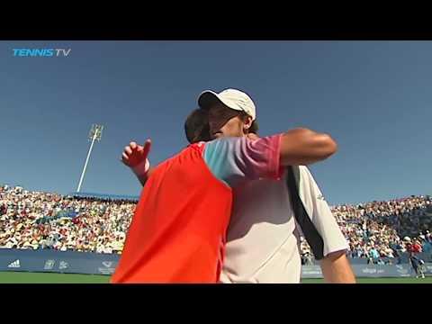 Best shots & rallies from brilliant Murray v Djokovic   Cincinnati 2008 Final