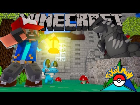 THE LEGEND OF GROUDON!!!! [#2]   Minecraft: Pokémon Trinity [Pixelmon]