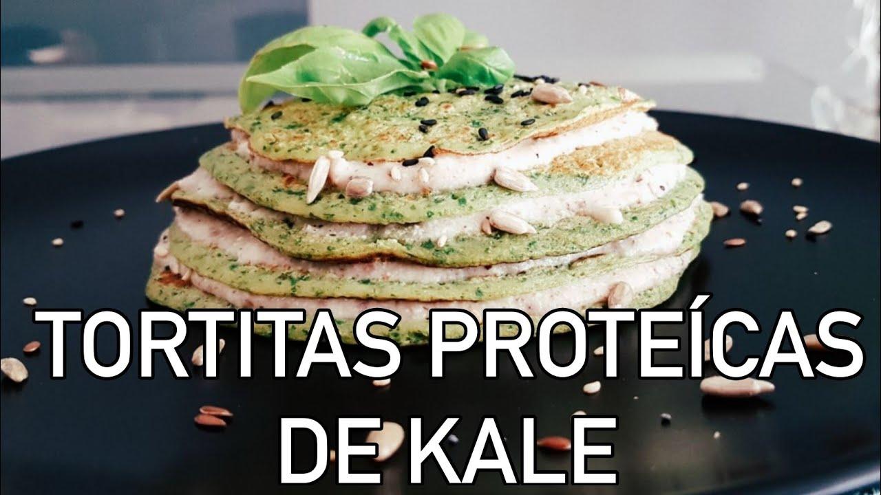 Tortitas proteicas con avena