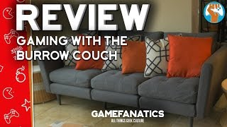 Gaming With a Burrow Couch (Review)