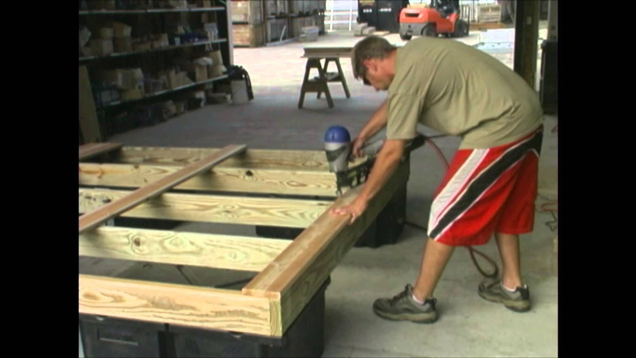 Building A Swim Raft Wmv Youtube