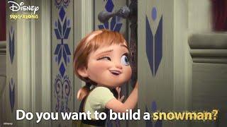 Do You Want To Build A Snowman?   Frozen Lyric Video   DISNEY SING-ALONGS