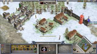 Age of Mythology 1 vs 3 Hard CPU challenge