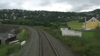 Cabride in Norway - Trondheim to Bodø (2/4 - Summer time) 1080p HD
