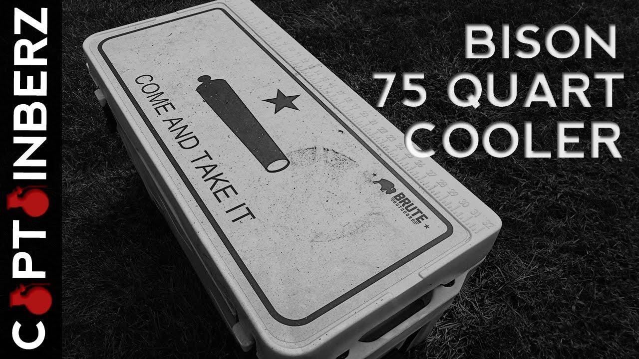 Bison 75 Qt Cooler Bison Coolers: 75 Quar...