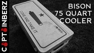 Bison Coolers: 75 Quart Cooler (USA Made!)