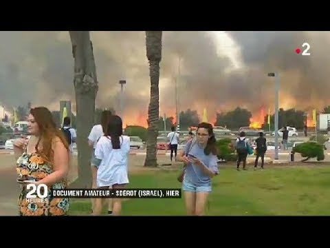 GAZA : la guerre des cerfs-volants / JT du mercredi 6 juin 2018