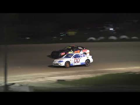 4 Cylinder Feature Race at Mt. Pleasant Speedway, Michigan on 06-07-2019!