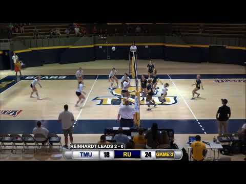 Women's volleyball vs. Reinhardt University