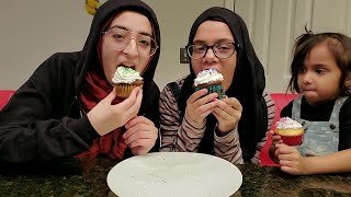 👩‍🍳Baking Episode #3: Maryam is baking Cup Cakes with her best friend Zeina & Master Cook Fatima 🤣💕