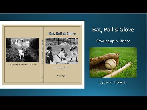 """Bat, Ball and Glove, The """"Lerinco"""" neighborhood, Lenoir, N.C."""