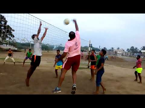 Volleyball game in nizampatnam