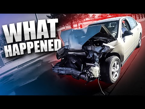 We Witnessed a Crash...