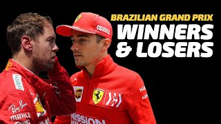 Ferrari Troubles & Verstappen Dominance | Winners & Losers: Brazil | Crash.net