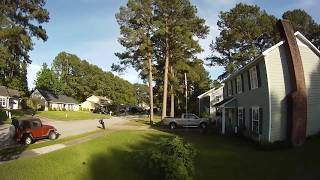 MaidenFlight with the Quad copter captured on video with my GoPro Hero.