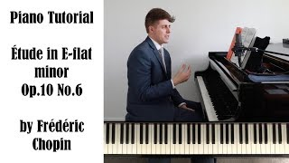 Chopin Etude in E-flat minor, Op.10 No.6 Tutorial - ProPractice by Josh Wright