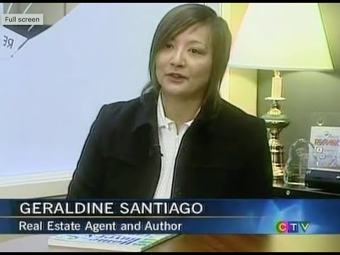 Vancouver Realtor Geraldine Santiago and Published Author