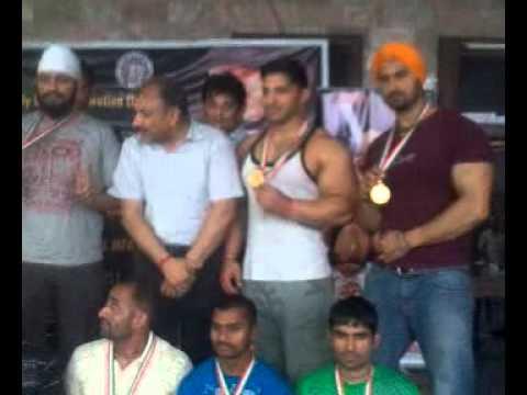 Satwinder sonu Tara Gym Jalandhar Body lifting comp in chaheru