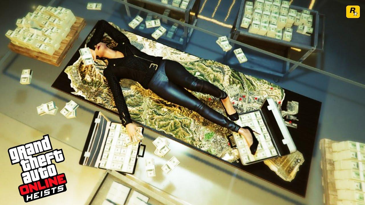 gta 5 online robbing bank