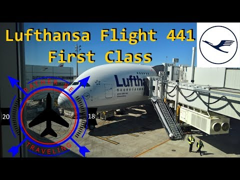 TRIP REPORT | Lufthansa 441| Airbus A380 | Houston - (IAH) to Frankfurt (FRA) | First Class