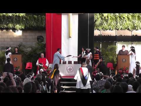 2014 Iolani School Commencement  Part 2