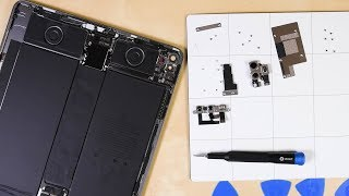 "12.9"" iPad Pro 2020 Teardown:  What does the LiDAR scanner look like?"