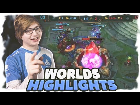 C9 Sneaky | WORLDS HIGHLIGHTS