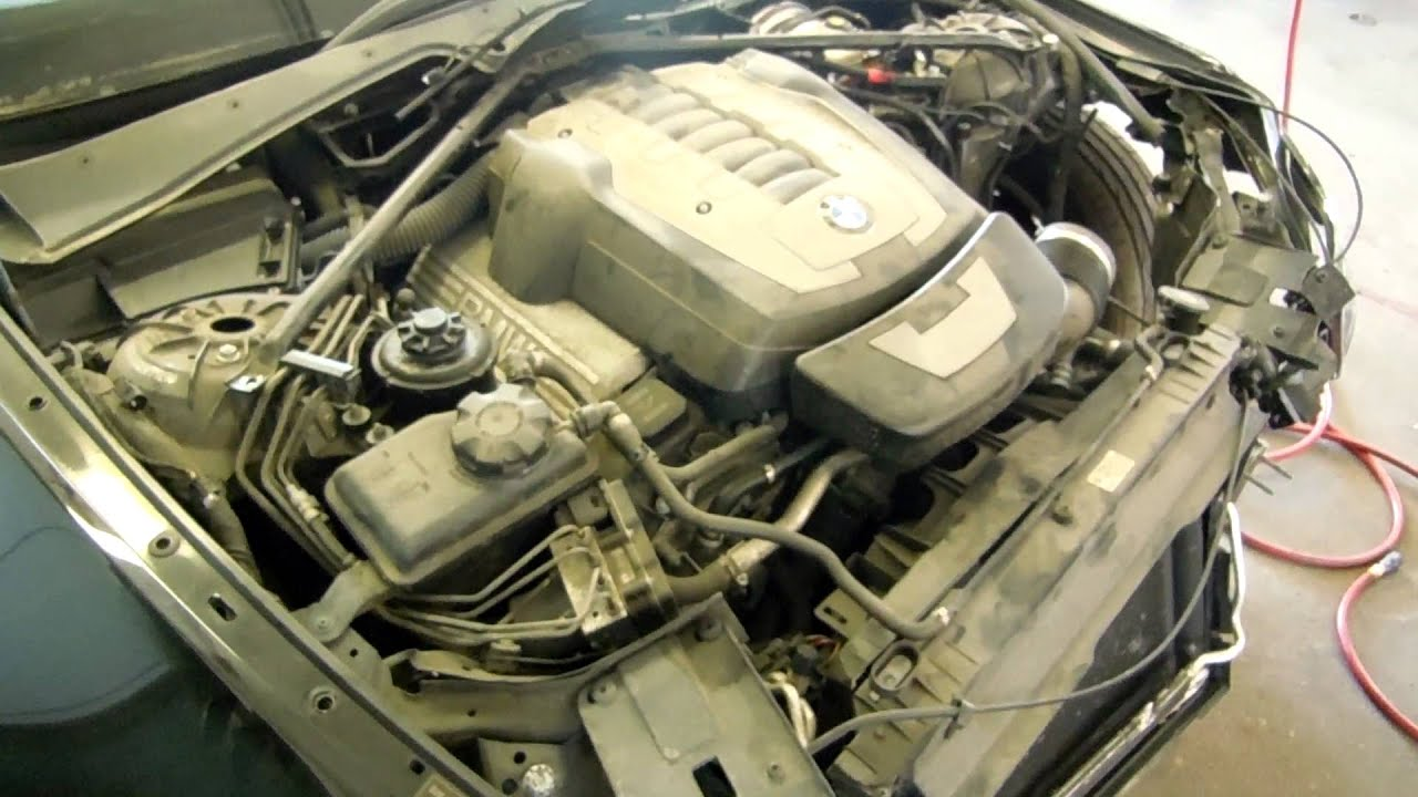 Bmw 4 8l N62 Engine 53k Miles E60 E63 550i 650i 650ci 2006 2010 V8 N62b48 Youtube