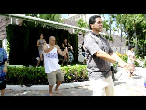 Hula at The Sheraton Princess Kaʻiulani - The Hukilau Song
