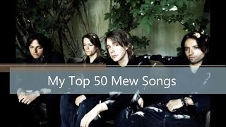 Top 50 Mew Songs
