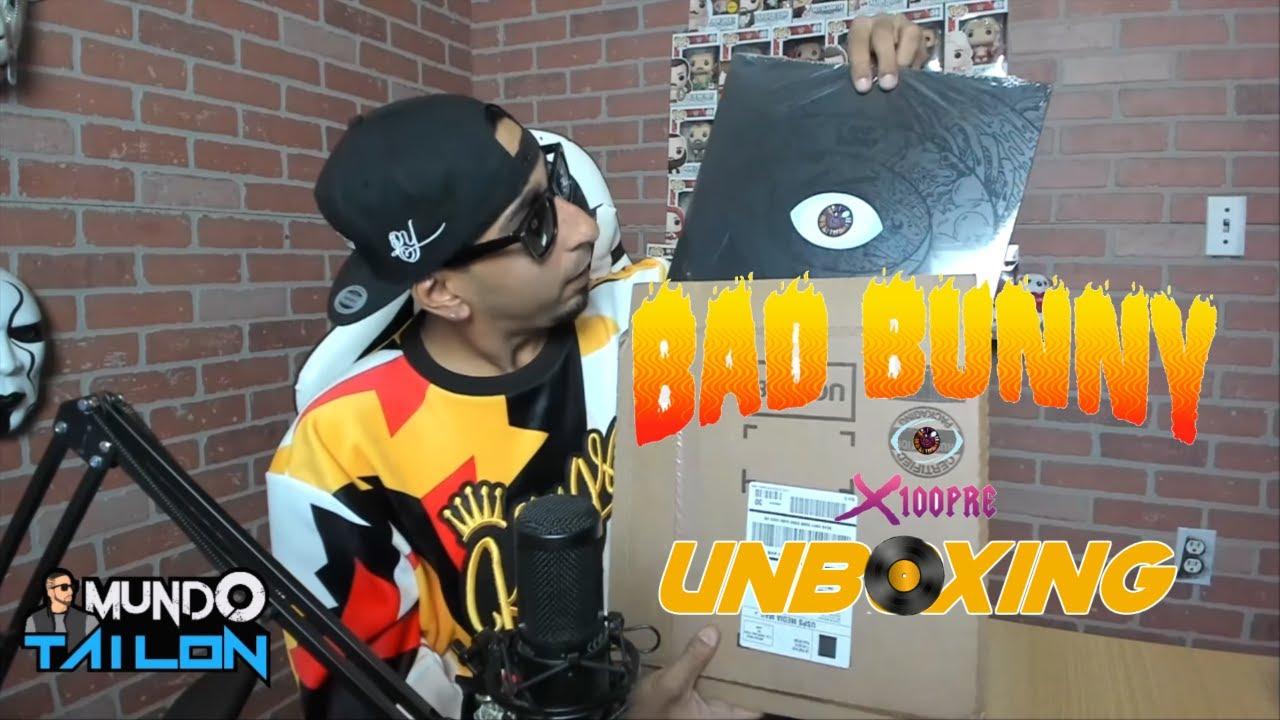 BAD BUNNY - X100PRE ALBUM (VINYL) - UNBOXING