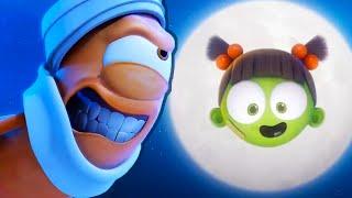 Kebi จะให้ Zizi The Moon | Spookiz: เดอะมูฟวี่ | Spookiz | การ์ตูนสำหรับเด็ก