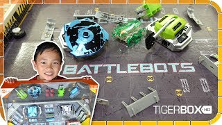 Battlebots Arena Pro from HexBug Toys Review 🚀😜😎