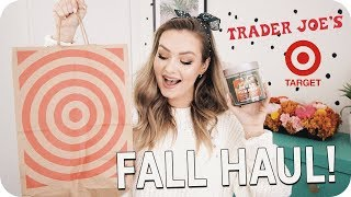 Target and Trader Joes Haul! Fall Haul 2018