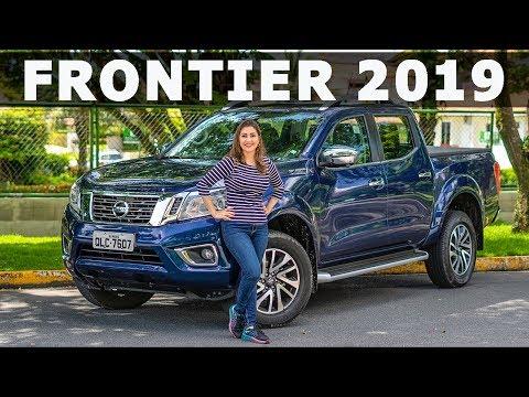 Nissan Frontier 2019 chega com novos itens de série