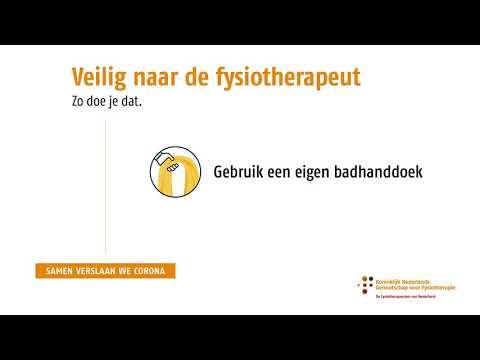 Veilig naar de fysiotherapeut  Video