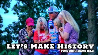 The HARDEST FIGHT of 2019 - MAKING HISTORY FWC 1/2